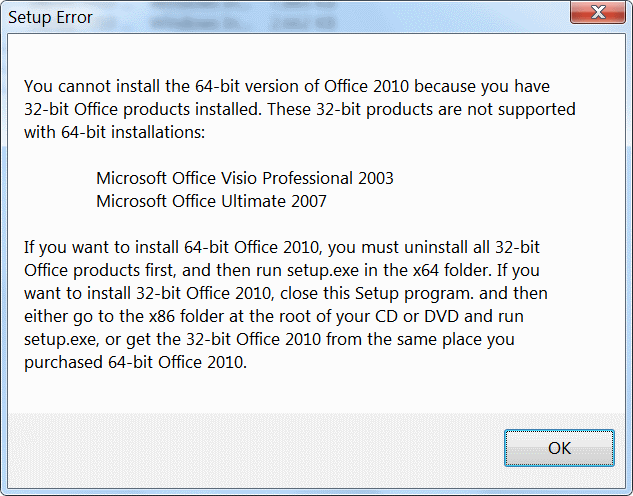 office 2010 32 bit and 64 bit on same machine