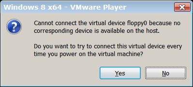Floppy lives in VM memory